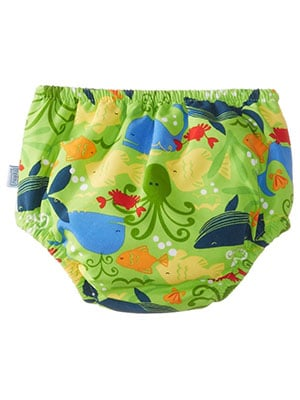 cloth swim diaper with waterproof inside for swimming babies