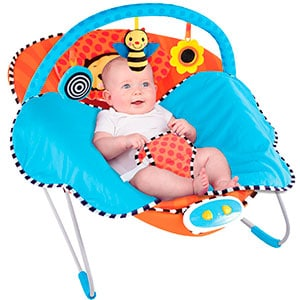 baby bouncer for boys -Sassy cuddle bee bouncer