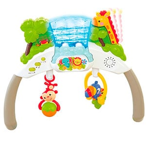 baby bouncer removable toy bar with lights and sounds
