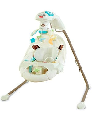 best full sized baby swing - fisher price my little lamb cradle n swing