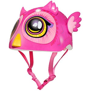 best toddler helmet for girls - pink bird