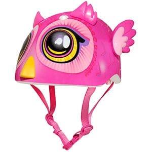 best toddler helmet for girls - pink bird