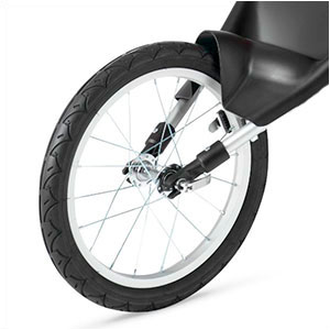 fixed wheel for jogging stroller