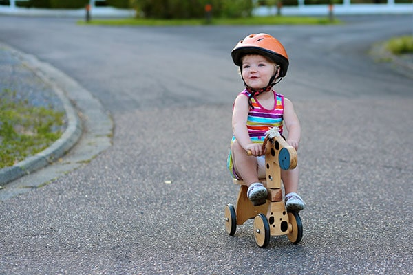how to choose the best bike helmet for your infant and toddler