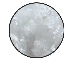 polyester fiber fill for pregnancy pillows