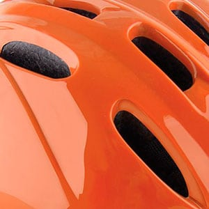 toddler bike helmet ventilation holes allow air to flow through