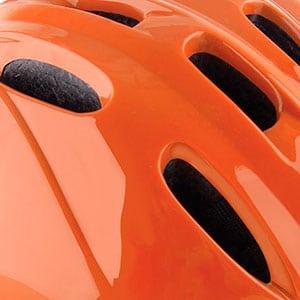 toddler bike helmet ventilation holes allow air to flow through
