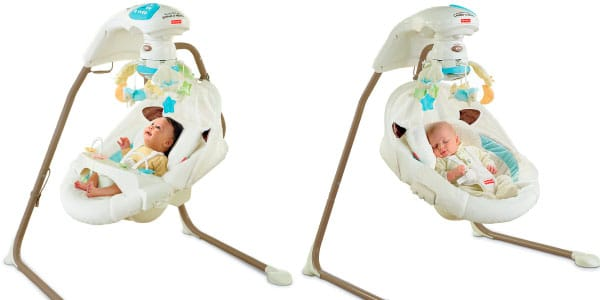 different seat positions for my little lamb fisher price baby swing