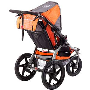 jogging stroller storage compartments - bob revolution se