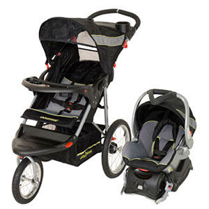 jogging stroller with infant car seat attachment for baby trend expedition