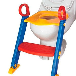 2-in-1 potty seat with built ins step stool