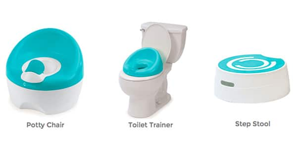 3-in-1 combination potty chair