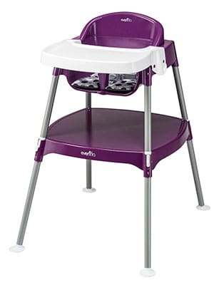 best budget convertible high chair - Evenflo minimeal