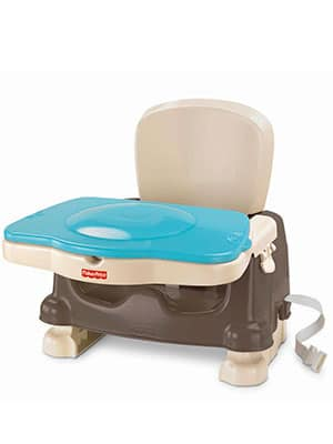 Best Budget Space Saver High Chair   Fisher Price Deluxe Booster Seat    Best High Chair