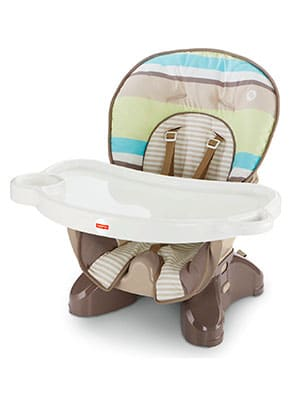 best mid-priced space saver high chair - Fisher-Price Stripes SpaceSaver