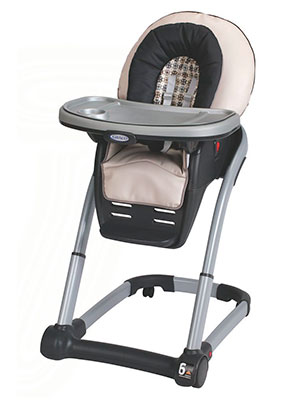 Best premium convertible high chair - Graco 4-in-1 seating system