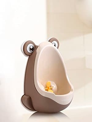 best suction cup potty training urinal - joy baby frog