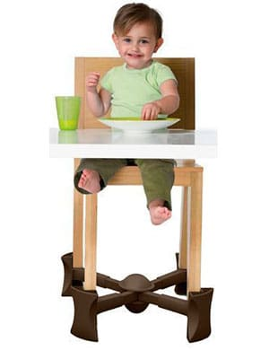 kibosh increasing the height of a regular chair for a small child