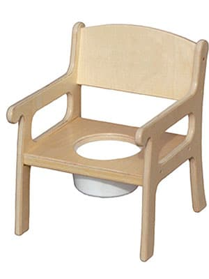 wooden potty chair - little colorado natural potty chair