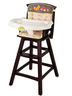 Best Mid Priced Wooden High Chair   Summer Infant Classic Comfort Wood