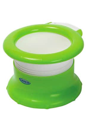 best dual purpose travel potty - graco twisting travel potty