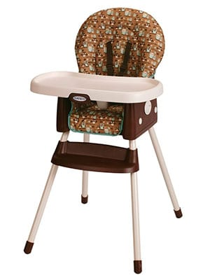 best mid priced convertible high chair - Graco SimpleSwitch