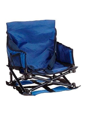blue travel booster high chair - Regalo my chair