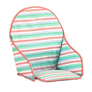 cushioned insert for wooden baby high chair