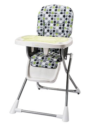 evenflo compact fold budget high chair