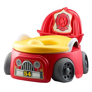 fire truck potty chair