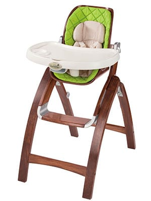premium expensive wooden high chair - summer infant bentwood