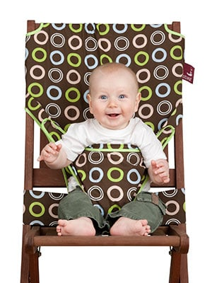 tot seat chair harness stupid to a chair with baby inside