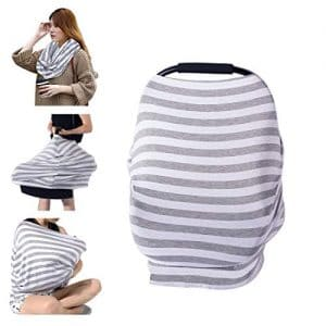 Striped Nursing cover