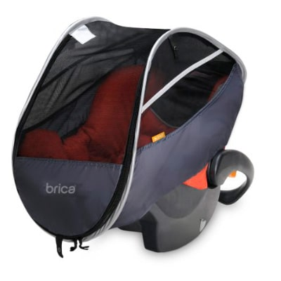 brick infant comfort canopy car seat without top cover