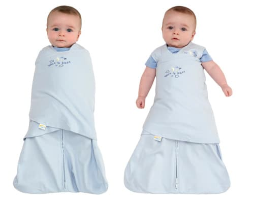 HALO two-in-one sleep sack and swaddle