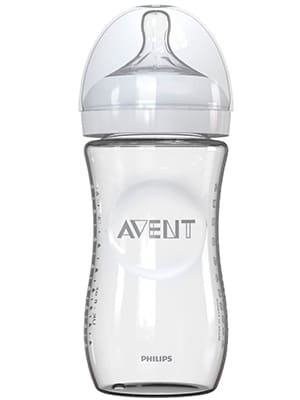 philips agent glass natural baby bottle