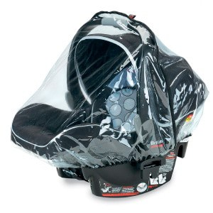 wet weather baby car seat cover