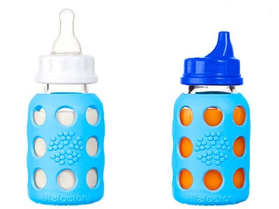 glass baby bottle that covers into a sippy cup