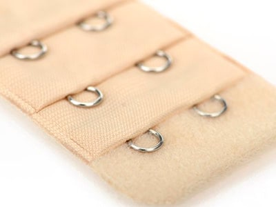 the front of a 2 hook bra extender