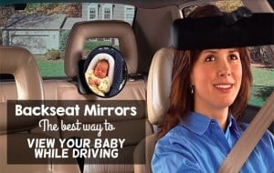 Baby Car Mirrors: The BEST way to view your baby in the backseat
