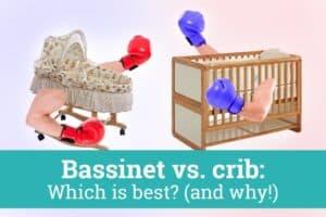 Crib vs Bassinet Match up