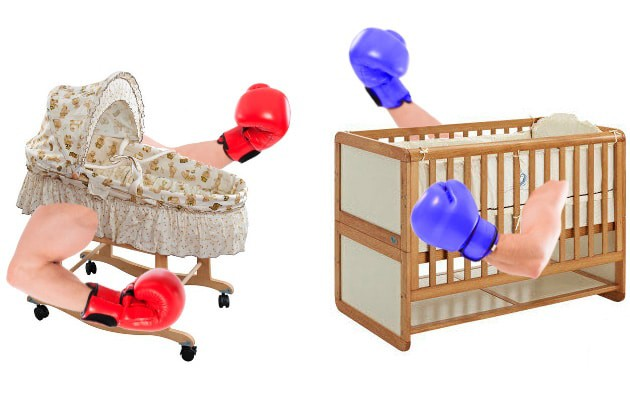 cribs vs bassinet match up