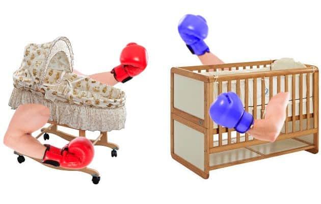 cribs vs bassinet match up