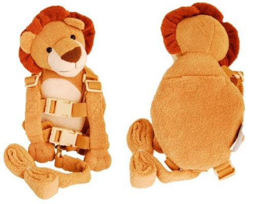 Goldbug animal 2-in-1 harness - lion