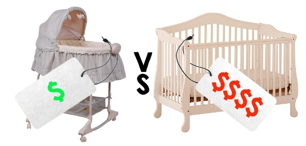 bassinet vs crib cost