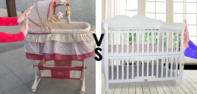 how portable is a bassinet vs crib