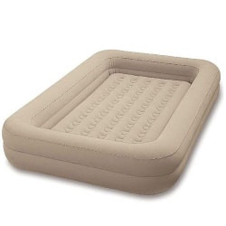 inflatable toddler bed with raised sides