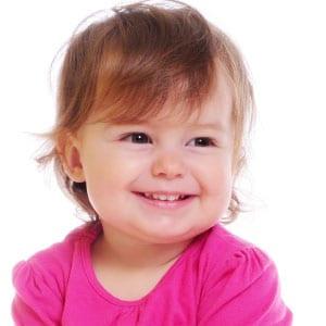 smiling baby