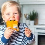 Reusable Baby Food Pouches: The BEST way to feed on the go