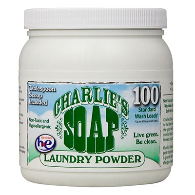 charlies soap laundry powder